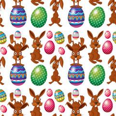 An Easter seamless design