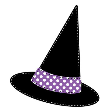 Witches hat vector
