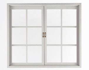 Window isolated on white