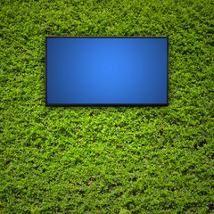 Modern TV screen