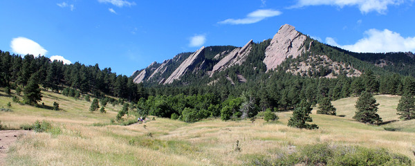 The Flatirons - Boulder (Colorado)