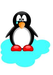 Пингвин плачет