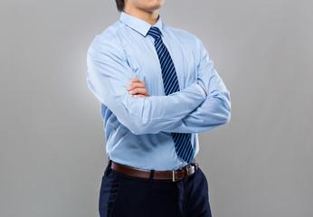 Body part of businessman