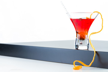 Fresh refreshing citrus cocktail