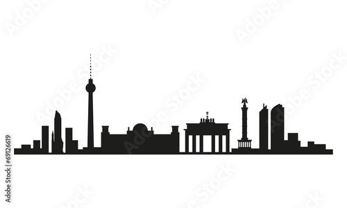 skyline berlin stockfotos und lizenzfreie vektoren auf bild 69126619. Black Bedroom Furniture Sets. Home Design Ideas