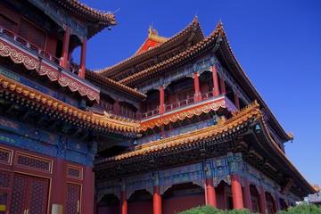 Printed roller blinds Beijing Lama Temple Beijing