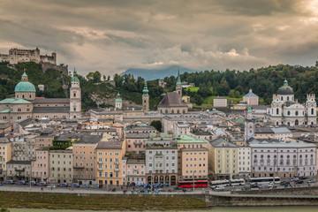 Salzburg old town Austria