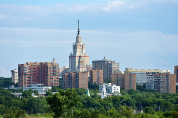 Cityscape of Moscow