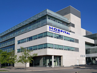 hospital style building