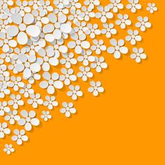 Blumen Ecke gelb