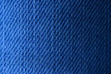 Blue jeans texture macro shot