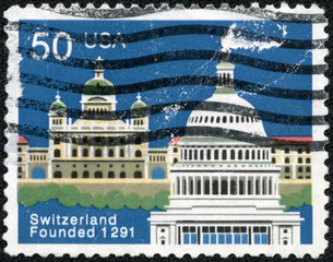 stamp printed in USA