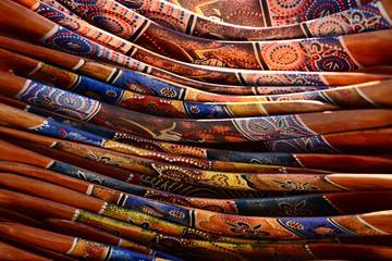 Fototapeta Pile of boomerangs obraz