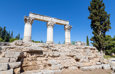 Temple E, Ancient Corinth, Greece
