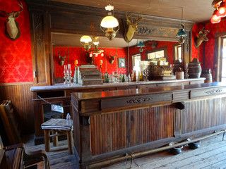 Ghost town (Saloon)  - Cody / Wyoming,