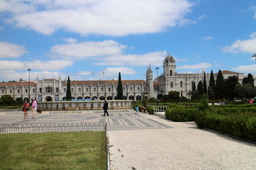 Monasterio de los Jerónimos de Belém,  Lisboa, Portugal