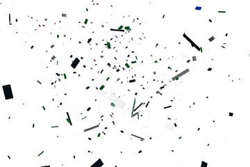 plastic bricks explosion