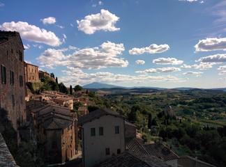 Panorama Toscano di Montepulciano