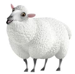Wall Murals Sweet Monsters white sheep