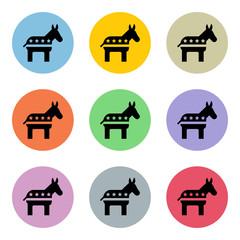 Flat Colorful Icon-Set