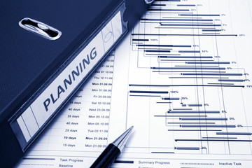 Project management - Project planning concept