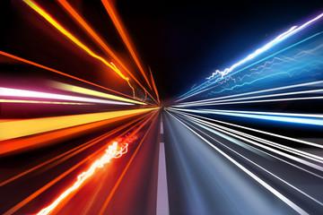 Traffic Light Trails