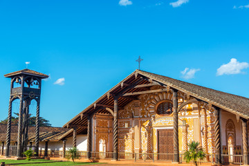 Jesuit Mission in Concepcion, Bolivia