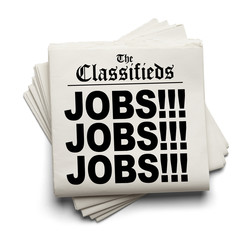 Classifieds Jobs Headline
