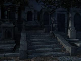 Cemetery- Halloween Background