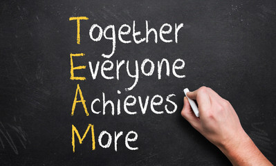 Together Everyone Achieves More - TEAM