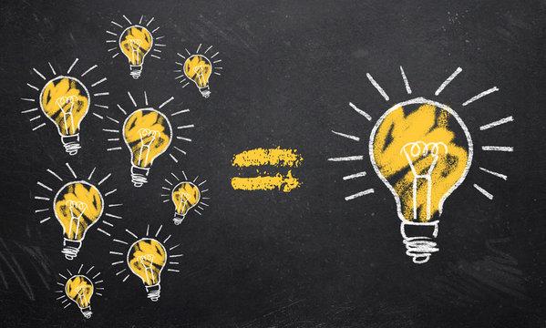 viele kleine Ideen bilden eine große