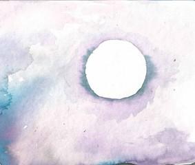 Keuken foto achterwand Schilderkunstige Inspiratie blue, night,