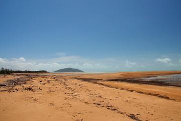 Australian coast in Queensland