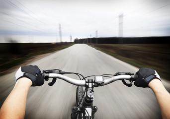 Aluminium Prints Cycling Ride