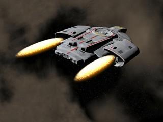 Spaceship - 3D render