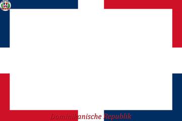 Rahmen Dominikanische Republik