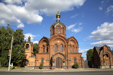 Archangel Michael church. Vladimir, Golden ring of Russia.