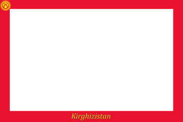 Rahmen Kirgisistan