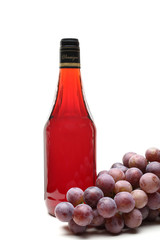 aceto di vino rosso in bottiglia