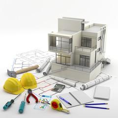 Contrucción de una Casa - Real Estate - Reparaciones y Reformas