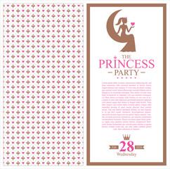 princess card design