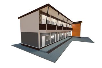 The apartment modern design at an affordable price.