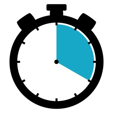 Stoppuhr: 20 Sekunden / 20 Minuten