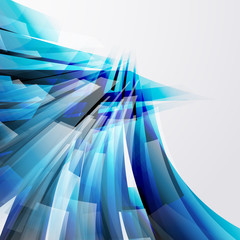 abstract design elements on a light background.