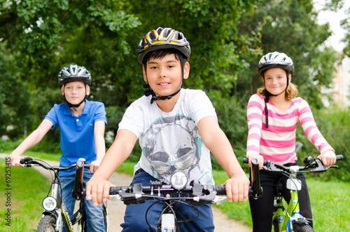 Fahrradtour Kinder