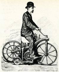 Daimler Motorcycle 1885