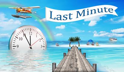 Last Minute, Urlaub buchen