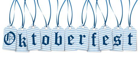hangtags with text Oktoberfest