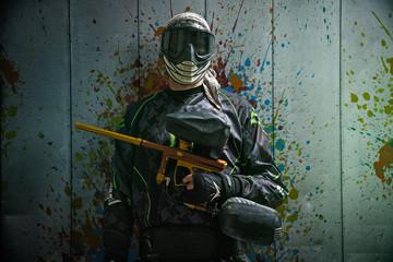 Wall Mural - Paintballer