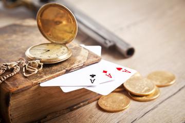 money, gambling,crime
